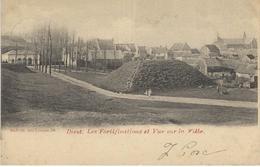 DIEST : Les Fortifications Et Vue Sur La Ville - Cachet De La Poste 1902 - Diest