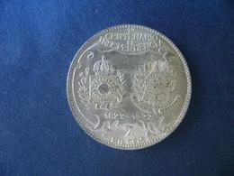 """BRAZIL / BRASIL - COIN """"2000 REIS"""", SILVER / PRATA , 1922 - Brasilien"""