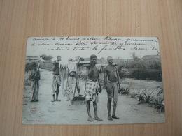 CP23/ LE TIPOYE A 4 A LOANGO CONGO FRANCAIS  / CARTE VOYAGEE / 2 SCANS - Congo Francés - Otros
