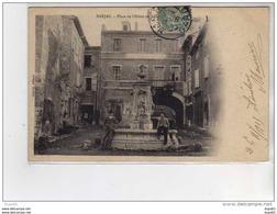 BARJAC - Place De L'Hôtel De Ville - Très Bon état - Frankreich