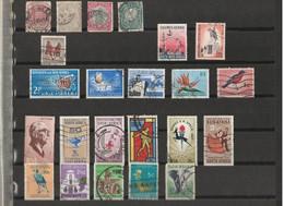 Lot De 23 Timbres Afrique Du Sud - África Del Sur (1961-...)