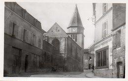 88Sv  78 Carrieres Sur Seine L'église Et La Rue - Carrières-sur-Seine