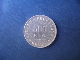 """BRAZIL / BRASIL - COIN """"500 REIS"""", SILVER / PRATA , 1907 - Brasilien"""