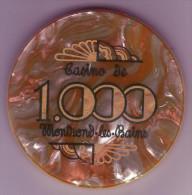 MONTROND LES BAINS - Ancien Jeton De Casino De Montrond Les Bains - 42 LOIRE - - Casino
