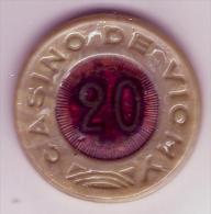 CASINO DE VICHY - Jeton De 20 Francs - Casino