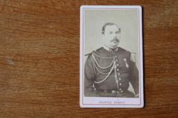 Cdv  Officier Du 9 Eme Dragon  Vers 1870  Par Anatole Grados - Guerra, Militares