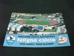 STADIO ESTADIO STADIUM STADE  STADIO COMUNALE ENZO BLASONE FOLIGNO 1928 CALCIO SERIE D VISTA AEREA - Stadi