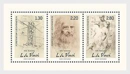 H01 Liechtenstein 2019  500th Anniversary Of The Death Of Leonardo Da Vinci - Liechtenstein