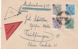 Allierter Besetzung Baden Brief 1949 - Zone Française