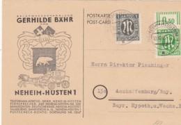 Allierter Besetzung Sowjetische Zone Postkarte 1946 - Zone Soviétique