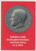 Deutsches Reich Postkarte Propaganda 1938 Reichsparteitag - Deutschland
