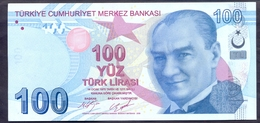 Turkey 100 Lirasi 2009 UNC P- 226c - Turchia