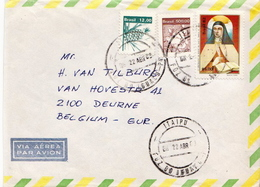 Postal History Cover: Brazil Stamps On Cover - Brasile