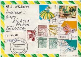 Postal History Cover: Brazil Set On Cover - Dance