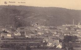 Malmédy Vue Générale Circulée En 1921 - Malmedy