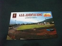 STADIO ESTADIO STADIUM STADE  STADIO COMUNALE SILVESTRO CUROTTI A.S.D. JUVENTUS DOMO PIEMONTE - Stadi