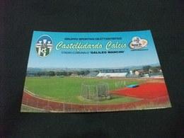 STADIO ESTADIO STADIUM STADE  STADIO COMUNALE GALILEO MANCINI G.S.D.  CASTELFIDARDO CALCIO SERIE D ANCONA - Stadi