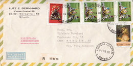 Postal History Cover: Brazil Stamps On 2 Covers - Christmas