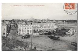 (24067-50) Granville - La Rue Le Campion Et La Place D'Orléans - Granville