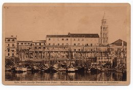 1916, WWI, AUSTRIA, ITALY, POLA TO SPLIT, TORPEDO DEPOT, SPALATO, PALAZZO DI DIOCLEZIANO - Covers & Documents