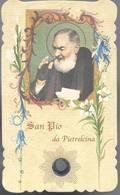 San Pio Da Pietrelcina - Reliquia - Reliquie - Relic - Relique - B.7 - Devotieprenten