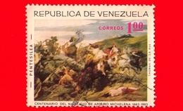VENEZUELA - Usato - 1966 - 100 Anni Della Nascita Di Arturo Michelena (1863-1963) - Pentesilea - 1.00 - Venezuela