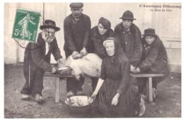 L'AUVERGNE PITTORESQUE-LA MORT DU COCHON - Breeding