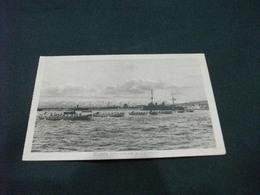 PICCOLO FORMATO  REGATA INTERALLEATA A SALONNICO NAVE SHIP GUERRA GRECIA - Guerra