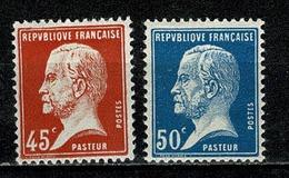 France 1923/26 Yv. & T. 175/176*   (2 Scans) - France