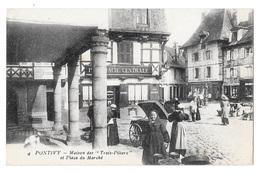 (24079-56) Pontivy - Maison Des Trois Piliers Et Place Du Marché - Pontivy