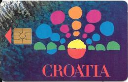 CARTE-PUCE-CROATIE--GEM2--TBE - Croatie