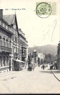 SPA Entrée De La Ville 1907 Bel Affranchissment Cachet Spa - Spa