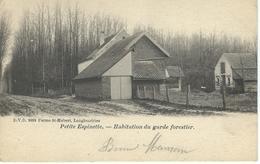 PETITE ESPINETTE (UCCLE) Habitation Du Garde Forestier - D.V.D. 9889 - Cachet De La Poste 1903 - Uccle - Ukkel