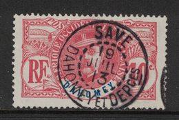 """Dahomey - Yvert 22 Oblitéré """"SAVE""""  - Scott#21 - Dahomey (1899-1944)"""