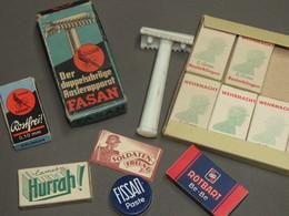BOITE DE LAMES DE RASOIR DE LA WEHRMACHT !!! - 1939-45