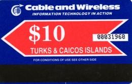 *TURKS & CAICOS* - Scheda Usata - Turks & Caicos (Islands)