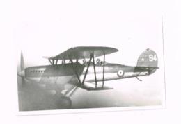 Aéronautique Militaire Belge.Fairey Fox.1939 - Aviación