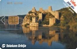 *SERBIA* - Scheda A Chip Usata - Schede Telefoniche