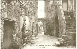 CPA DE LA TURBIE  (ALPES MARITIMES)  VIEILLE RUE - La Turbie