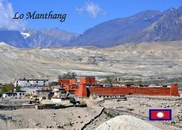 Nepal Mustang Lo Manthang New Postcard - Nepal