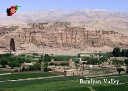 Afghanistan Bamiyan Valley UNESCO New Postcard - Afghanistan