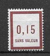 FRANCE FICTIF N°F6** Mnh Sans Charnière - Fictifs