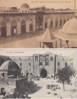 Lot De 2 CPA Syrie - Alep - Intérieur De La Cour De La Grande Mosquée / Han Saboun - Syrie