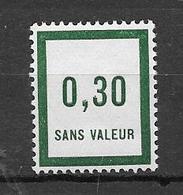 FRANCE FICTIF N°F9** Mnh Sans Charnière - Fictifs