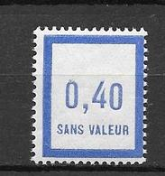 FRANCE FICTIF N°F10** Mnh Sans Charnière - Fictifs
