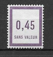 FRANCE FICTIF N°F11** Mnh Sans Charnière - Fictifs