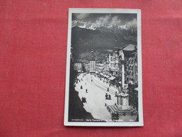 > Austria   RPPC Innsbruck     Ref 3384 - Austria
