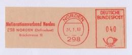 BRD AFS - NORDEN, Meliorationsverband Norden 26.1.60 - [7] Federal Republic
