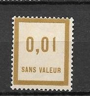 FRANCE FICTIF N°F23** Mnh Sans Charnière - Fictifs