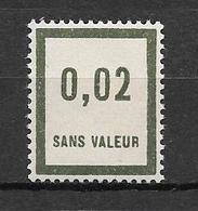 FRANCE FICTIF N°F24** Mnh Sans Charnière - Fictifs